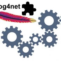 Configure log4net common.logging in code behind